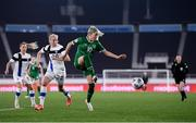 26 October 2021; Denise O'Sullivan of Republic of Ireland during the FIFA Women's World Cup 2023 qualifying group A match between Finland and Republic of Ireland at Helsinki Olympic Stadium in Helsinki, Finland. Photo by Stephen McCarthy/Sportsfile