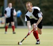 4 April 2004; Jason Black, Cork Harlequins. Mens Irish Senior Cup Final 2003-2004, Cork Harlequins v Instonians, Belfield, Dublin. Picture credit; Brian Lawless / SPORTSFILE *EDI*