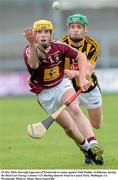 25 May 2016; Darragh Eggerton of Westmeath in action against Niall Mullins of Kilkenny during the Bord Gais Energy Leinster U21 Hurling Quarter Final in Cusack Park, Mullingar, Co. Westmeath. Photo by Danny Boyce/Sportsfile