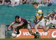 23 May 2004; Dessie Dolan, Westmeath, in action against Cathal Daly, Offaly. Bank of Ireland Leinster Senior Football Championship, Offaly v Westmeath, Croke Park, Dublin. Picture credit; Brian Lawless / SPORTSFILE