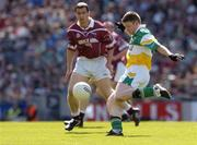23 May 2004; Cathal Daly, Offaly, in action against Dessie Dolan, Westmeath. Bank of Ireland Leinster Senior Football Championship, Offaly v Westmeath, Croke Park, Dublin. Picture credit;  Matt Browne / SPORTSFILE
