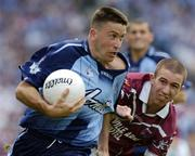 6 June 2004; Senan Connell, Dublin, in action against, John Keane, Westmeath. Bank of Ireland Leinster Senior Football Championship, Dublin v Westmeath, Croke Park, Dublin. Picture credit; David Maher / SPORTSFILE