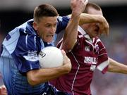 6 June 2004; Senan Connell, Dublin, in action against John Keane, Westmeath. Bank of Ireland Leinster Senior Football Championship, Dublin v Westmeath, Croke Park, Dublin. Picture credit; David Maher / SPORTSFILE