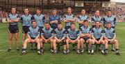 21 August 1994; The Dublin team, back row, left to right, Paul Clarke, Dermot Deasy, Mick Galvin, John O'Leary, Brian Stynes, Paddy Moran, Keith Barr and Jack Sheedy. Front row, left to right, Ciaran Walsh, Vinny Murphy, Dessie Farrell, Niall Guiden, Pat Gilroy, Mick Deegan and Charlie Redmond. Bank of Ireland Football Championship Semi Final, Dublin v Leitrim. Croke Park. Dublin. Picture credit; Ray McManus / SPORTSFILE