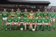 21 August 1994; Leitrim team. Bank of Ireland Football Championship Semi Final. Dublin v Leitrim. Croke Park. Dublin. Picture credit; Ray McManus / SPORTSFILE