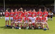 14 July 2013; The Cork team. Munster GAA Hurling Senior Championship Final, Limerick v Cork, Gaelic Grounds, Limerick. Picture credit: Ray McManus / SPORTSFILE