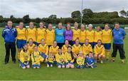 1 September 2013; The Douglas Hall LFC squad. FAI Umbro Women's Intermediate Cup Final, Colga FC v Douglas Hall LFC, Fahy's Field, Galway. Picture credit: Diarmuid Greene / SPORTSFILE