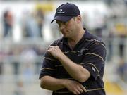 26 June 2004; Anthony Daly, Clare manager. Guinness Senior Hurling Championship Qualifier, Round 1, Clare v Laois, Gaelic Grounds, Limerick. Picture credit; Pat Murphy / SPORTSFILE