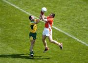 11 July 2004; Diarmuid Marsden, Armagh, in action against Shane Carr, Donegal. Bank of Ireland Ulster Senior Football Championship Final, Armagh v Donegal, Croke Park, Dublin. Picture credit; Brian Lawless / SPORTSFILE
