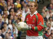 18 July 2004; Fintan Ruddy, Mayo goalkeeper. Bank of Ireland Connacht Senior Football Championship Final, Mayo v Roscommon, McHale Park, Castlebar, Co. Mayo. Picture credit; Pat Murphy / SPORTSFILE