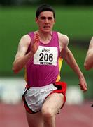 13 July 1997; Patrick Shannon of Ballybrack A.C. during the National Track & Field Championships at Morton Stadium in Santry, Dublin. Photo by David Maher/Sportsfile