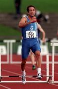 13 July 1997; Tom McGuirk of Crusaders A.C. during the BLÉ National Track & Field Championships at Morton Stadium in Santry, Dublin. Photo by David Maher/Sportsfile