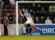 11 September 2004; Adrian Murphy, Athlone Town, celebrates after scoring his sides first goal. FAI Cup Quarter-Final, Longford Town v Athlone Town, Flancare Park, Longford. Picture credit; David Maher / SPORTSFILE