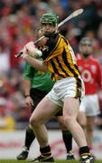 12 September 2004; Henry Shefflin, Kilkenny. Guinness All-Ireland Senior Hurling Championship Final, Cork v Kilkenny, Croke Park, Dublin. Picture credit; Ray McManus / SPORTSFILE *** Local Caption *** Any photograph taken by SPORTSFILE during, or in connection with, the 2004 Guinness All-Ireland Hurling Final which displays GAA logos or contains an image or part of an image of any GAA intellectual property, or, which contains images of a GAA player/players in their playing uniforms, may only be used for editorial and non-advertising purposes.  Use of photographs for advertising, as posters or for purchase separately is strictly prohibited unless prior written approval has been obtained from the Gaelic Athletic Association.