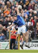 13 October 2013; Eoin Price, St Lomans, in action against Philip Sheridan, Tyrrellspass. Westmeath County Senior Club Football Championship Final, St Lomans v Tyrrellspass, Cusack Park, Mullingar, Co Westmeath. Picture credit: Ramsey Cardy / SPORTSFILE