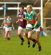 11 September 2004; Claire O'Hara, Mayo. Ladies Football Senior Championship Semi-Final, Mayo v Galway, O'Moore Park, Portlaoise, Co. Laois. Picture credit; Matt Browne / SPORTSFILE