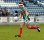 11 September 2004; Ciara McDermott, Mayo. Ladies Football Senior Championship Semi-Final, Mayo v Galway, O'Moore Park, Portlaoise, Co. Laois. Picture credit; Matt Browne / SPORTSFILE