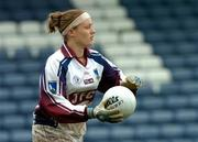 11 September 2004; Una Carroll, Galway. Ladies Football Senior Championship Semi-Final, Mayo v Galway, O'Moore Park, Portlaoise, Co. Laois. Picture credit; Matt Browne / SPORTSFILE