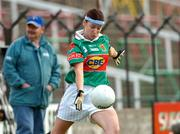 11 September 2004; Claire Egan, Mayo. Ladies Football Senior Championship Semi-Final, Mayo v Galway, O'Moore Park, Portlaoise, Co. Laois. Picture credit; Matt Browne / SPORTSFILE