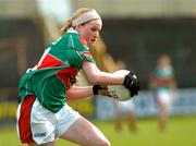 11 September 2004; Fiona McHale, Mayo. Ladies Football Senior Championship Semi-Final, Mayo v Galway, O'Moore Park, Portlaoise, Co. Laois. Picture credit; Matt Browne / SPORTSFILE