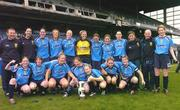 24 October 2004; The UCD team celebrate with the cup after victory against Dundalk. 2004 FAI Ladies National Senior Cup Final, UCD v Dundalk, Lansdowne Road, Dublin. Picture credit; Matt Browne / SPORTSFILE