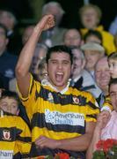 31 October 2004; Setanta O hAilpin, Na Pairsaigh, celebrates after the win against Cloyne. Cork County Senior Hurling Final, Na Piarsaigh v Cloyne, Pairc Ui Chaoimh, Cork. Picture credit; Matt Browne / SPORTSFILE