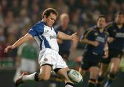 30 October 2004; Chris Malone, Bath. Heineken European Cup 2004-2005, Leinster v Bath, Lansdowne Road, Dublin. Picture credit; Pat Murphy / SPORTSFILE