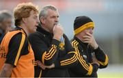 20 October 2013; Dr. Crokes' management team, from left, Vince Casey, Noel O'Leary and Malachy Walsh. Kerry County Senior Club Football Championship Final, Dr. Crokes v Austin Stacks, Fitzgerald Stadium, Killarney, Co. Kerry. Picture credit: Brendan Moran / SPORTSFILE