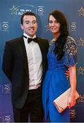 8 November 2013; Shane Curley and Laura Leahy, from Roscommon, ahead of the GAA GPA All-Star Awards 2013 Sponsored by Opel, at Croke Park, Dublin. Picture credit: Paul Mohan / SPORTSFILE