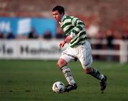 17 January 1999; Brian Morrisroe of Shamrock Rovers during the Harp Lager National League Premier Division match between UCD and Shamrock Rovers at Belfield Park in Dublin. Photo by Ray McManus/Sportsfile