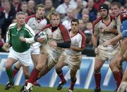 11 December 2004; Roger Wilson, Ulster. Heineken European Cup 2004-2005, Pool 6, Round 4, Ulster v Stade Francais, Ravenhill, Belfast. Picture credit; Matt Browne / SPORTSFILE