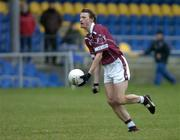 9 January 2005; Colin Gallgan, Westmeath, in action against , Longford. O'Byrne Cup, Quarter-Final, Longford v Westmeath, Pearse Park, Longford. Picture credit; David Maher / SPORTSFILE
