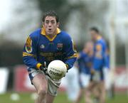 9 January 2005; David Blessington, Longford. O'Byrne Cup, Quarter-Final, Longford v Westmeath, Pearse Park, Longford. Picture credit; David Maher / SPORTSFILE