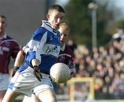 23 January 2005; Gary Kavanagh, Laois. O'Byrne Cup Final, Westmeath v Laois, Cusack Park, Mullingar, Co. Westmeath. Picture credit; David Maher / SPORTSFILE