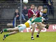 6 February 2005; Dessie Dolan, Westmeath, in action against Cathal Daly, Offaly. Allianz National Football League, Division 1A, Offaly v Westmeath, O'Connor Park, Tullamore, Co. Offaly. Picture credit; Damien Eagers / SPORTSFILE