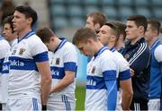 24 November 2013; Diarmuid Connolly, right, and his St Vincent's team mates before the game. AIB Leinster Senior Club Football Championship Semi-Final, St Vincent's, Dublin v Summerhill, Meath. Parnell Park, Dublin. Picture credit: Ray McManus / SPORTSFILE