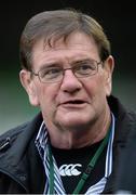 24 November 2013; Former Ireland international Willie Anderson. Guinness Series International, Ireland v New Zealand, Aviva Stadium, Lansdowne Road, Dublin. Picture credit: Brendan Moran / SPORTSFILE