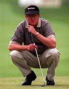 4 July 1997; Eddie Doyle of Ireland during the second round of the Murphy's Irish Open Golf Championship at Druid's Glen Golf Club in Wicklow. Photo by David Maher/Sportsfile
