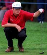 4 July 1997; Eoghan O'Connell of Ireland during the second round of the Murphy's Irish Open Golf Championship at Druid's Glen Golf Club in Wicklow. Photo by David Maher/Sportsfile