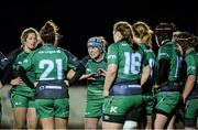 7 December 2013; Connacht captain Ruth O'Reilly with her players. Women's Interprovincial, Leinster v Connacht, Ashbourne RFC, Ashbourne, Co. Meath. Picture credit: Matt Browne / SPORTSFILE