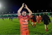 14 December 2013; Lionel Beauxis, Toulouse, after the final whistle. Heineken Cup 2013/14, Pool 3, Round 4, Connacht v Toulouse. Sportsground, Galway. Picture credit: Matt Browne / SPORTSFILE