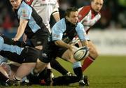 4 March 2005; Graeme Bevoridge, Glasgow Rugby. Celtic League 2004-2005, Pool 1, Ulster v Glasgow Rugby, Ravenhill, Belfast. Picture credit; Matt Browne / SPORTSFILE