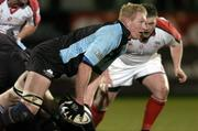 4 March 2005; Cameron Mather, Glasgow Rugby. Celtic League 2004-2005, Pool 1, Ulster v Glasgow Rugby, Ravenhill, Belfast. Picture credit; Matt Browne / SPORTSFILE