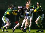 19 March 2005; Donal O'Donoghue, Westmeath, in action against Dara O'Cinneide, Kerry. Allianz National Football League, Division 1A, Kerry v Westmeath, Austin Stack Park, Tralee, Co. Kerry. Picture credit; Matt Browne / SPORTSFILE