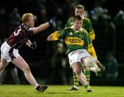 19 March 2005; Dara O'Cinneide, Kerry, in action against Donal O'Donoghue, Westmeath. Allianz National Football League, Division 1A, Kerry v Westmeath, Austin Stack Park, Tralee, Co. Kerry. Picture credit; Matt Browne / SPORTSFILE