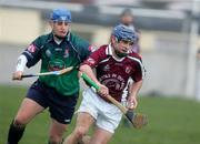 4 March 2005; Gerry O'Grady, NUIG, in action against Kiernan Murphy, Limerick IT. Datapac Fitzgibbon Cup Semi-Final, Limerick IT v NUI Galway, Limerick Institute of Technology, Limerick. Picture credit; Kieran Clancy / SPORTSFILE