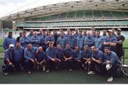 3 June 1999; The Ireland Rugby team pictured in Stadium Australia, home of the 2000 Olympic Games in Sydney. Ireland Rugby Squad Training, Stadium Australia, Sydney, Australia. Picture credit: Matt Browne / SPORTSFILE