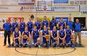 10 January 2014; The Bord Gáis Neptune squad. Basketball Ireland Men's National Cup Semi-Final 2014, Bord Gáis Neptune v Dublin Inter, Neptune Stadium, Cork. Picture credit: Brendan Moran / SPORTSFILE
