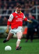 31 January 1999; Anthony Keating, Eire Og. Football. Picture credit; Ray McManus/SPORTSFILE