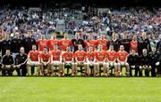 1 May 2005; Armagh squad. Allianz National Football League, Division 1 Final, Armagh v Wexford, Croke Park, Dublin. Picture credit; Brendan Moran / SPORTSFILE